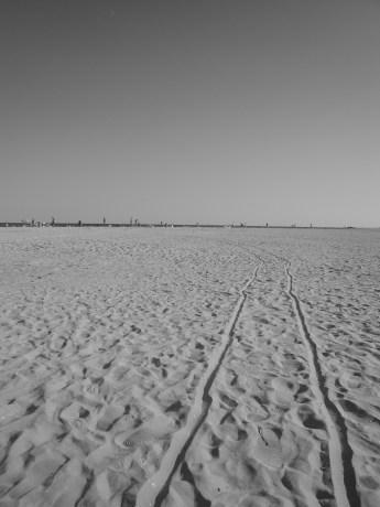 Le sable fin de Sulina