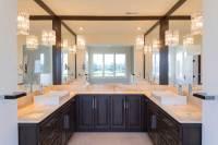 Elegant Master Bathroom - Giorgi Kitchens & Designs