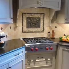 Red Cherry Cabinets Kitchen Glass Pendant Lights For Island Subzero And Wolf Stove | Appliances Giorgi Kitchens ...