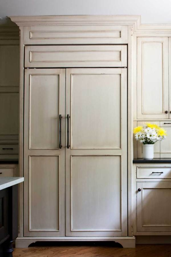 Sub-Zero Refrigerators Wood Panels for Door