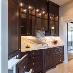 Kitchen Island With Prep Sink Lg Appliances Cocoa Walnut In Wilmington, Delaware