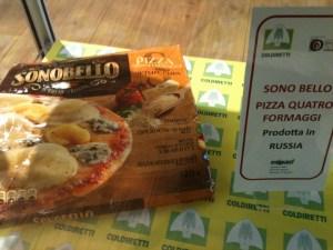 Sono bello pizza quattro formaggi