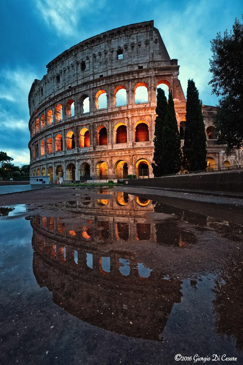 Colosseo  Paesaggisticamente