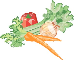 clipart vegetables clip lasagna produce veggie cliparts graphic tag library clipground
