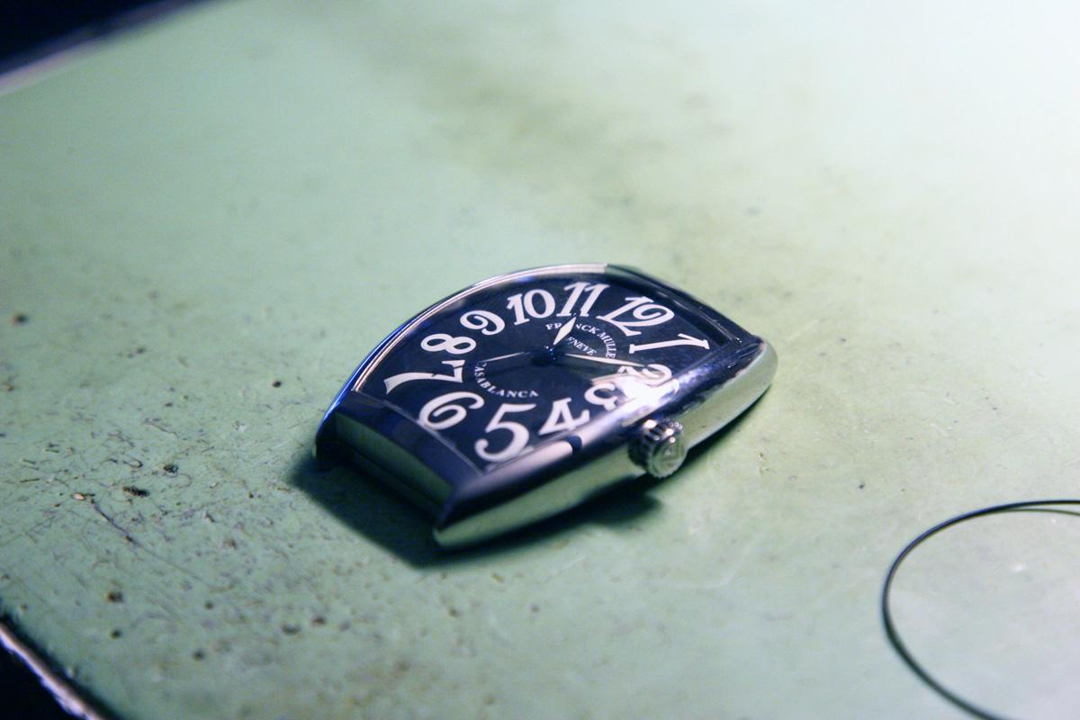 L'orologio con il nuovo vetro