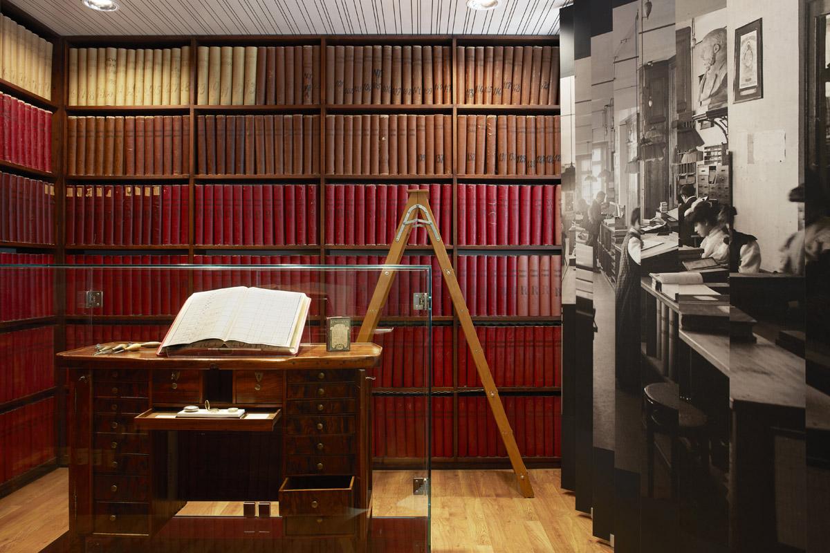 Un interno del museo Longines