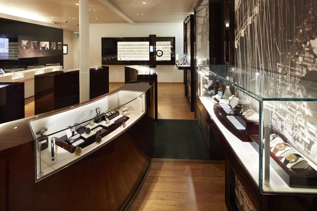 Una sala del museo Longines