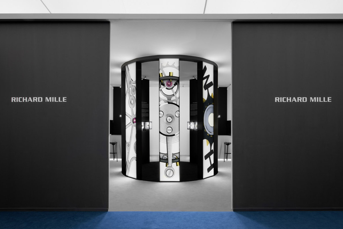 Lo stand di Richard Mille a Frieze.