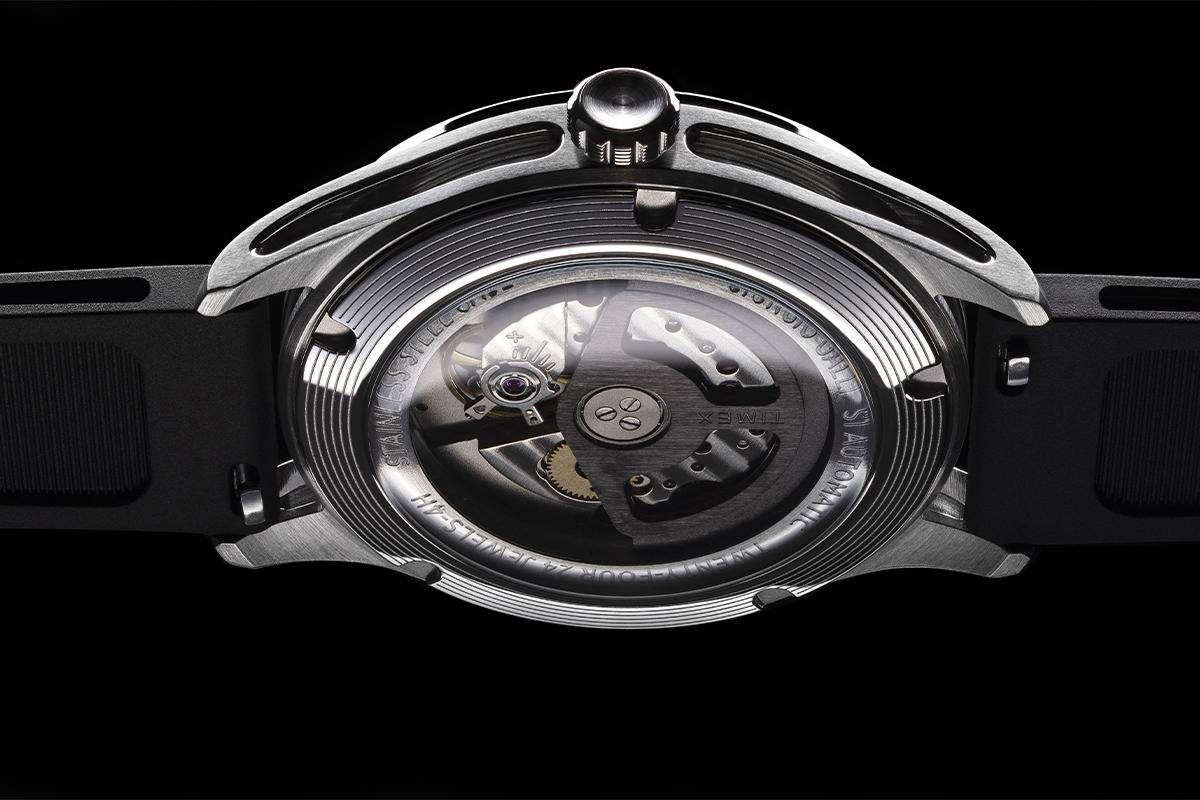 Il fondello del Timex S1 Automatic