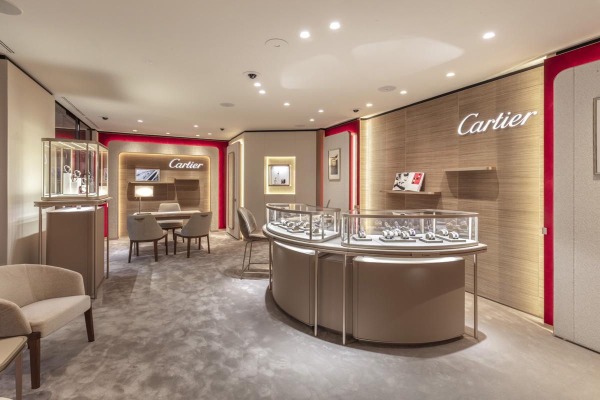 Scorcio dell'Espace Cartier