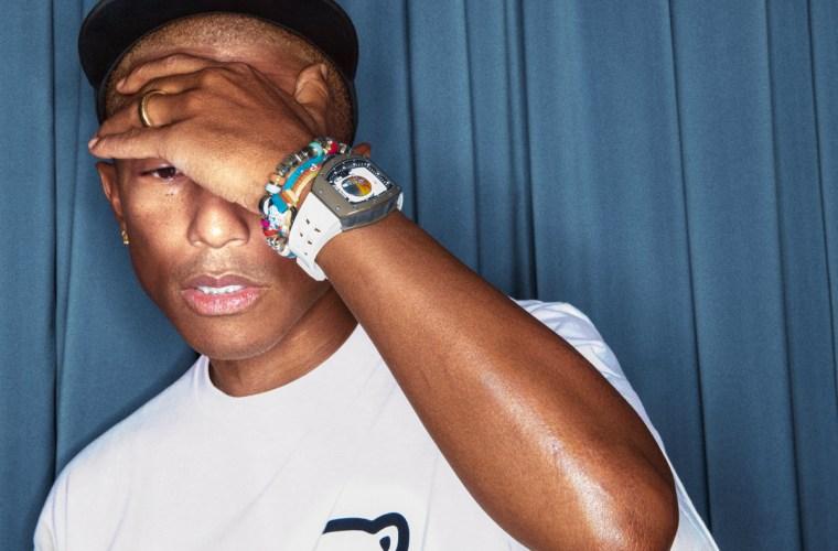 Pharrell Williams con al polso l'RM 52-05 Tourbillon