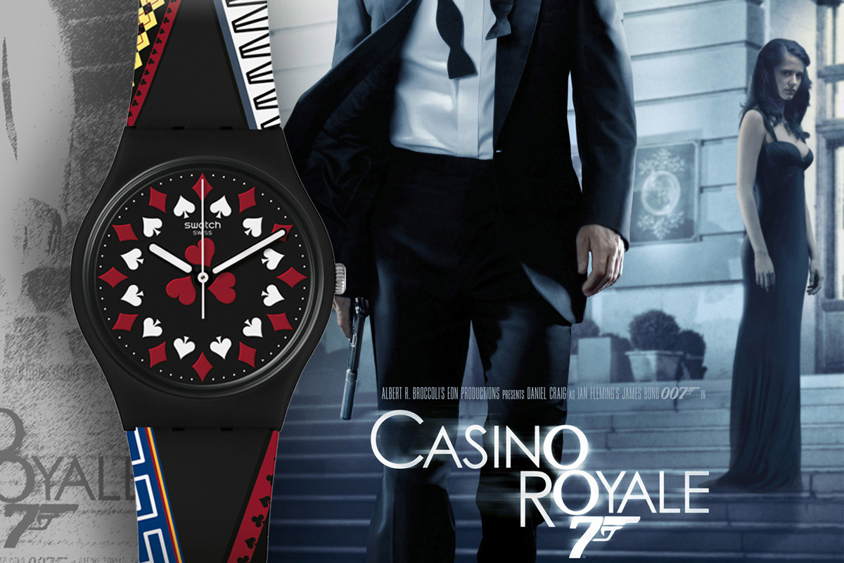 Swatch 007 Casino Royale 2006