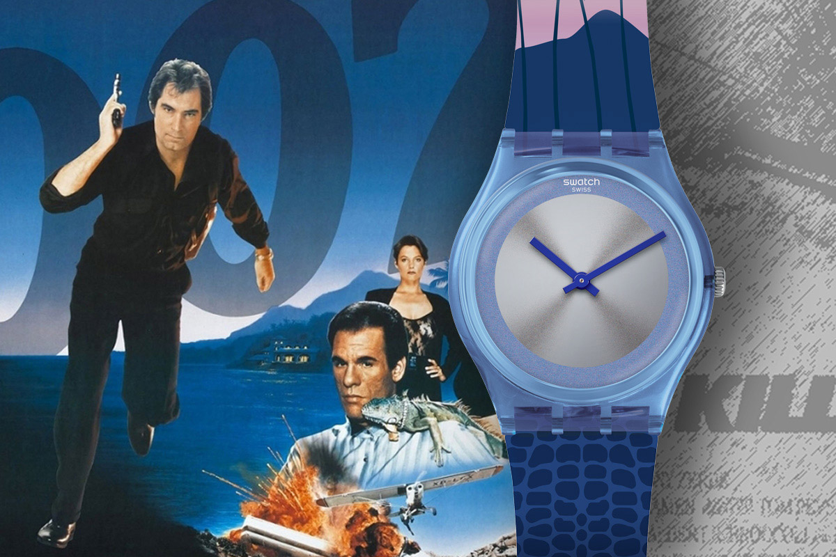 Swatch Licence to Kill 1989