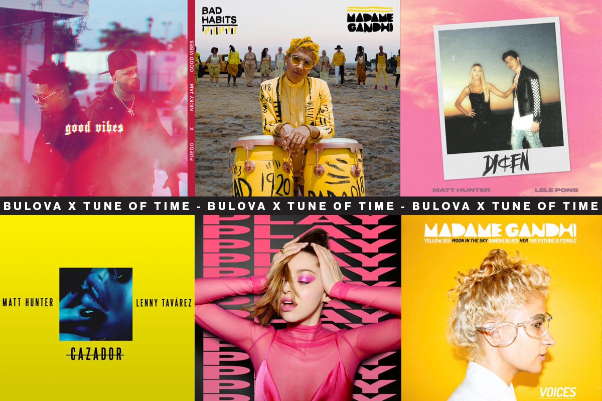 """Copertine degli album da cui sono stati tratti i brani di """"Tune of Time"""""""