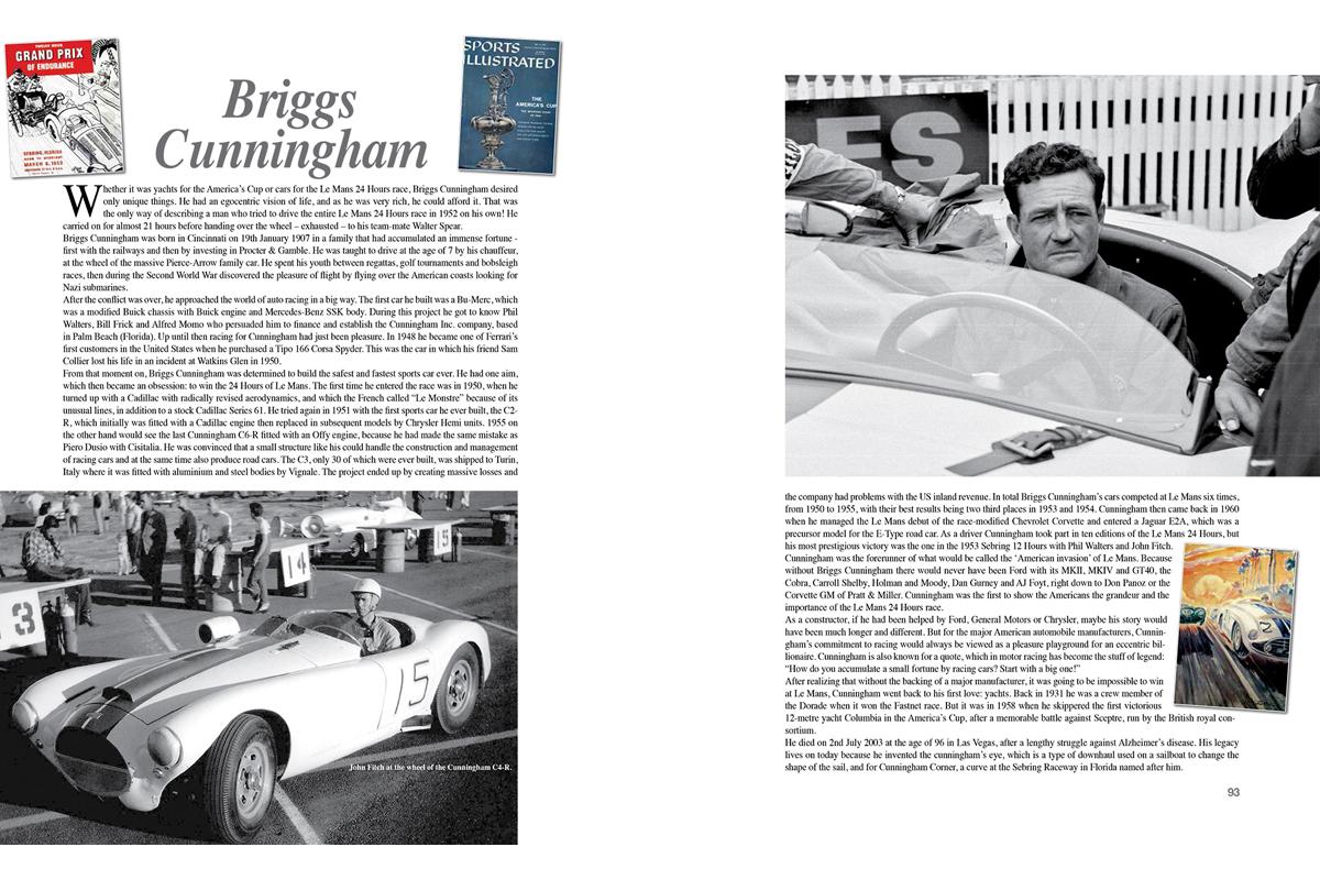Alcune pagine di Time to Race