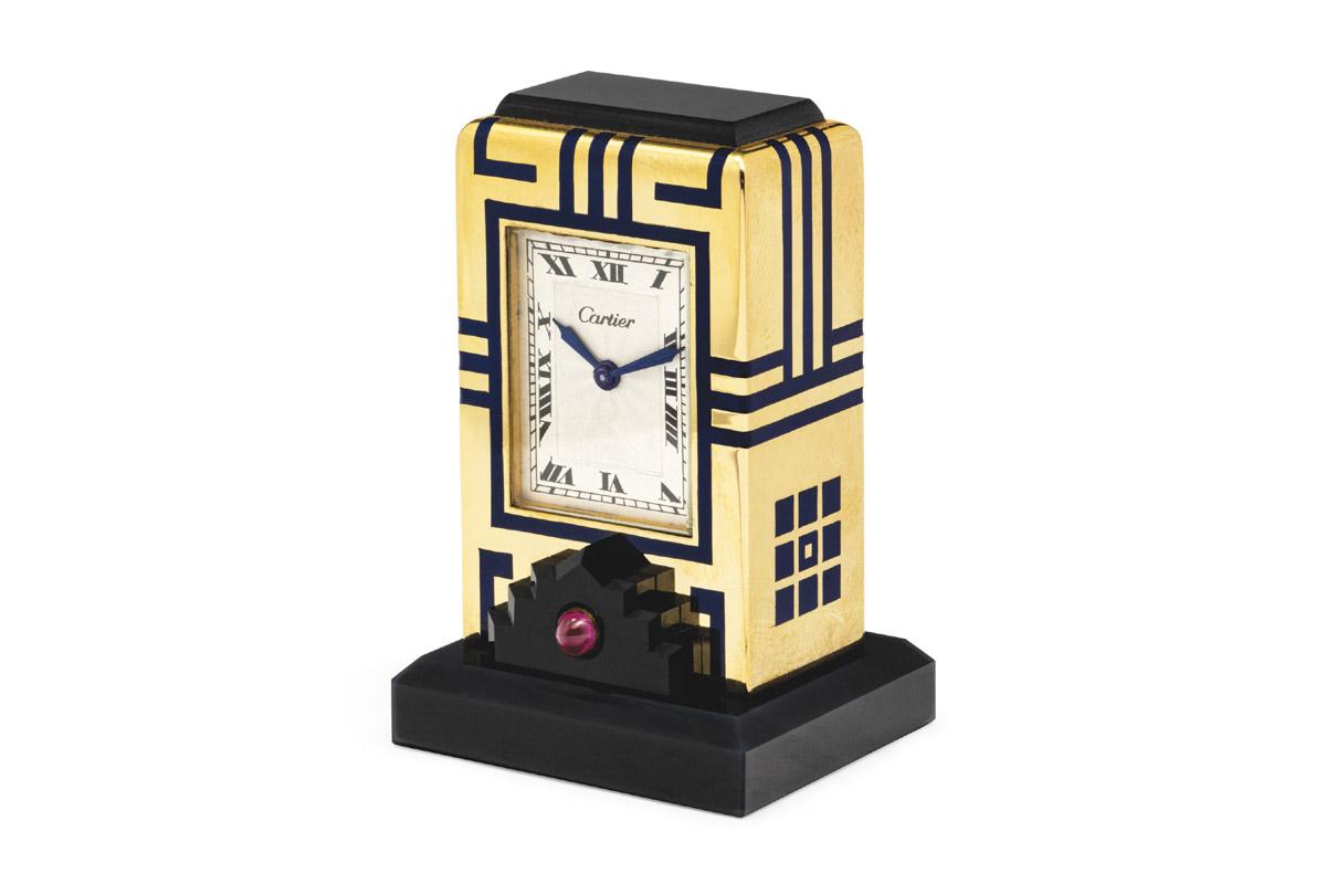Pendulette Art Déco di 101 Cartier Clocks