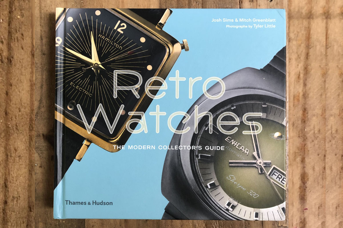 "La copertina del libro ""Retro Watches"""