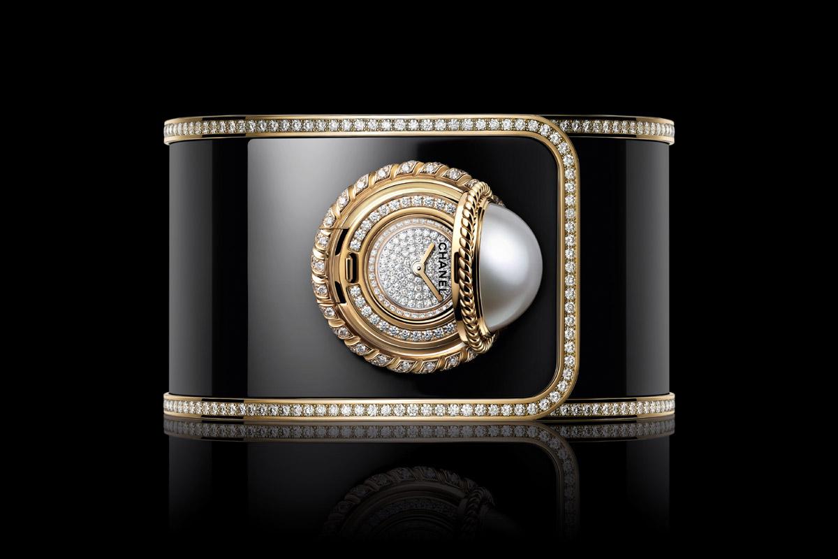 Il Mademoiselle Privé Bouton Ganse de Diamant