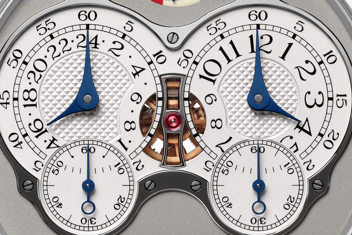 Il quadrante del Chronomètre à Résonance