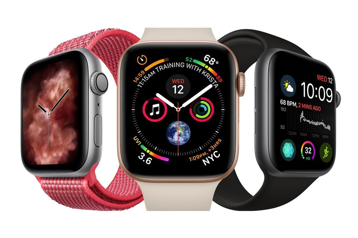 Tre versioni dell'Apple Watch Series 6