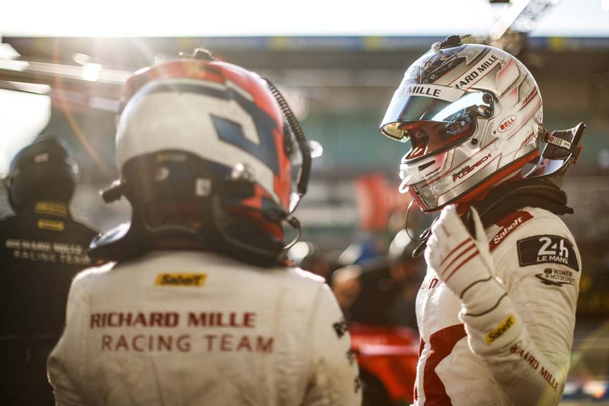 Due pilote del Richard Mille Racing Team alla 24 Ore di Le Mans