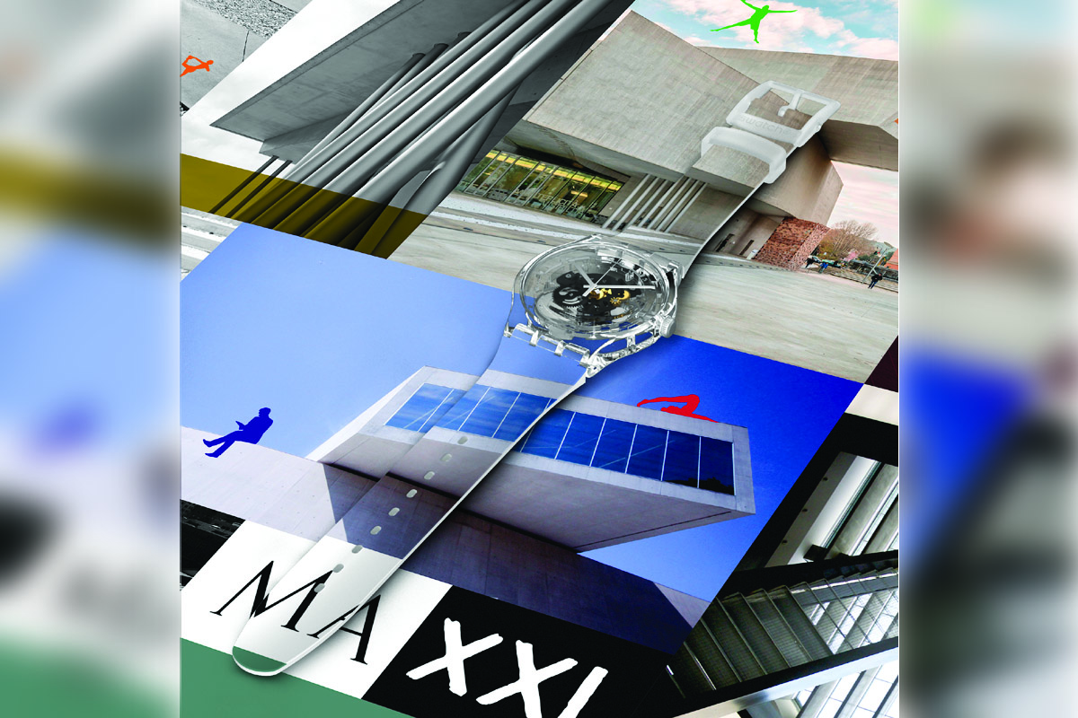 Swatch X You dedicato al Maxxi