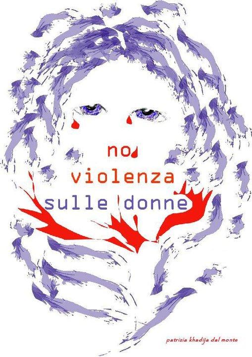 No alla violenza sulle donne Disegno di PKDal Monte  Giornalismo
