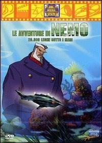 Locandina Le avventure di Nemo. 20.000 leghe sotto i mari