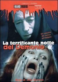 Locandina La terrificante notte del demonio