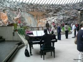 Helsinki - La chiesa nella roccia