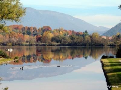 Autunno sul lago di Sartirana