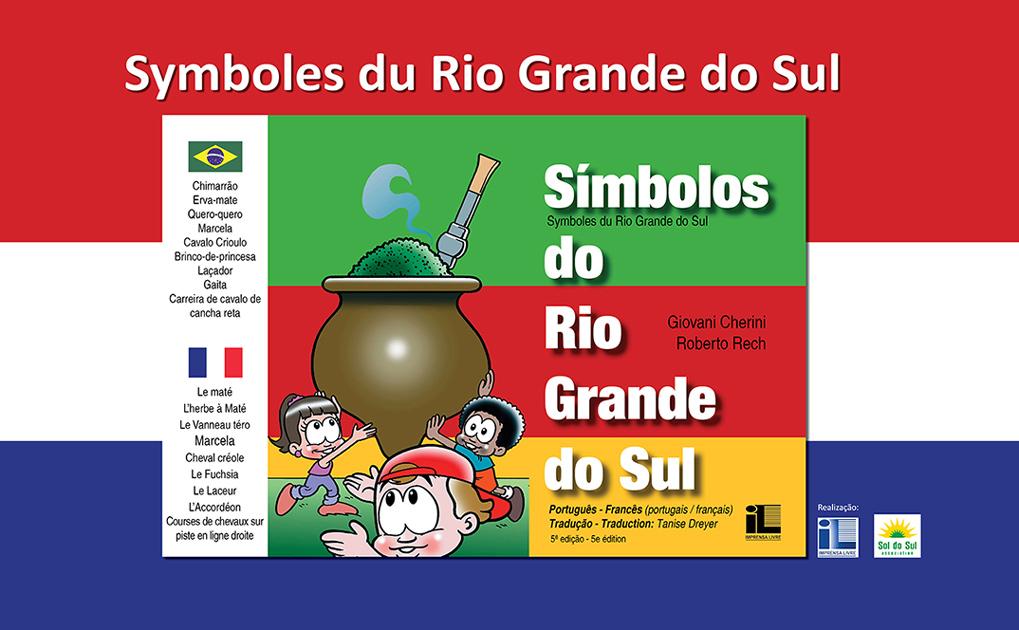 Lançamento do livro Símbolos do Rio Grande do Sul na França foi um sucesso!
