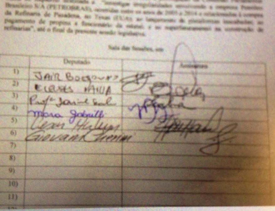 Prorrogação da CPI da Petrobras