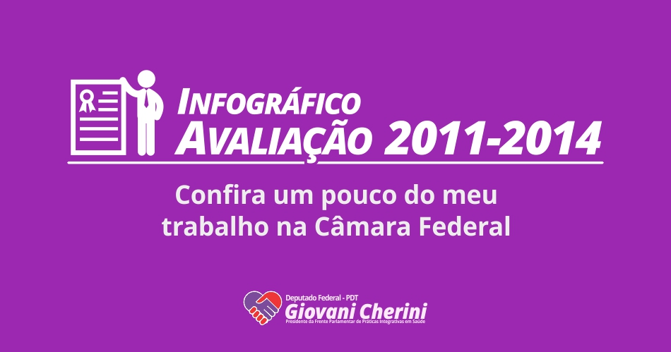 Avaliação 2011-2014 – Infográfico