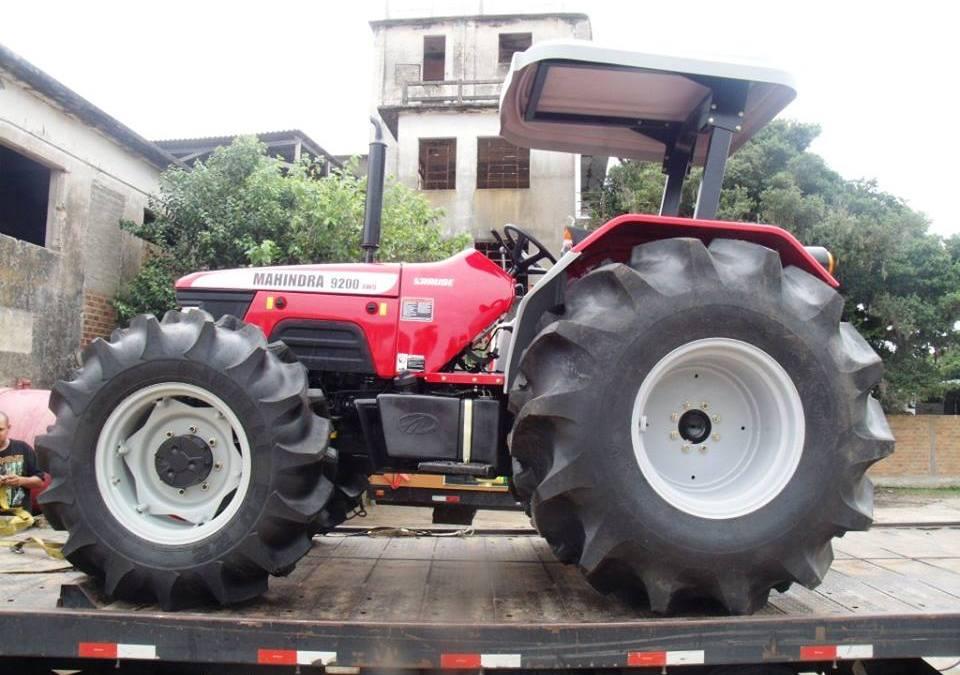 Arambaré ganha maquina agrícola através de emenda parlamentar