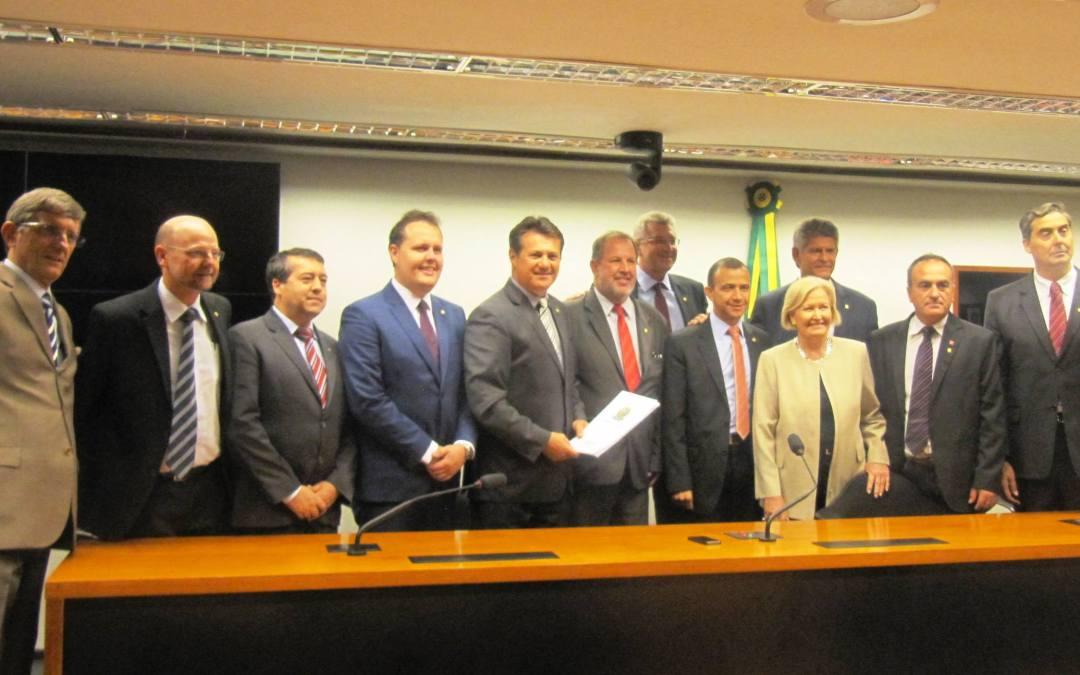 Governador Sartori e Prefeito Fortunati estarão em Brasília para reunião da Bancada Gaúcha no Congresso