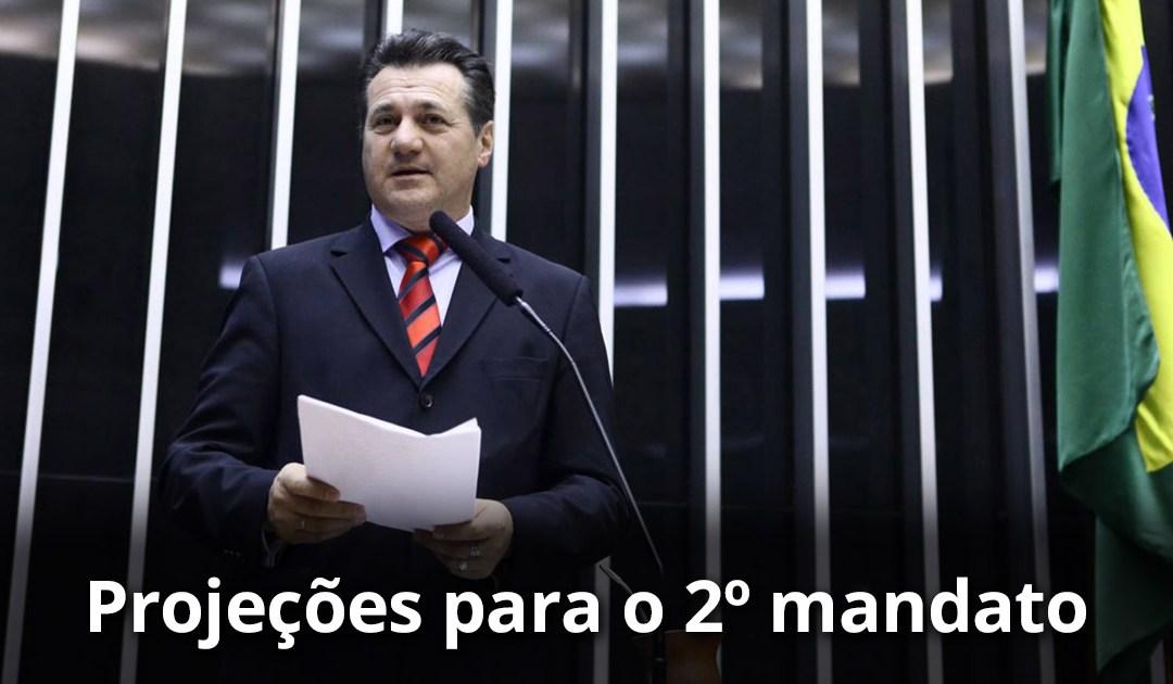 As projeções para o segundo mandato de Giovani Cherini na Câmara Federal