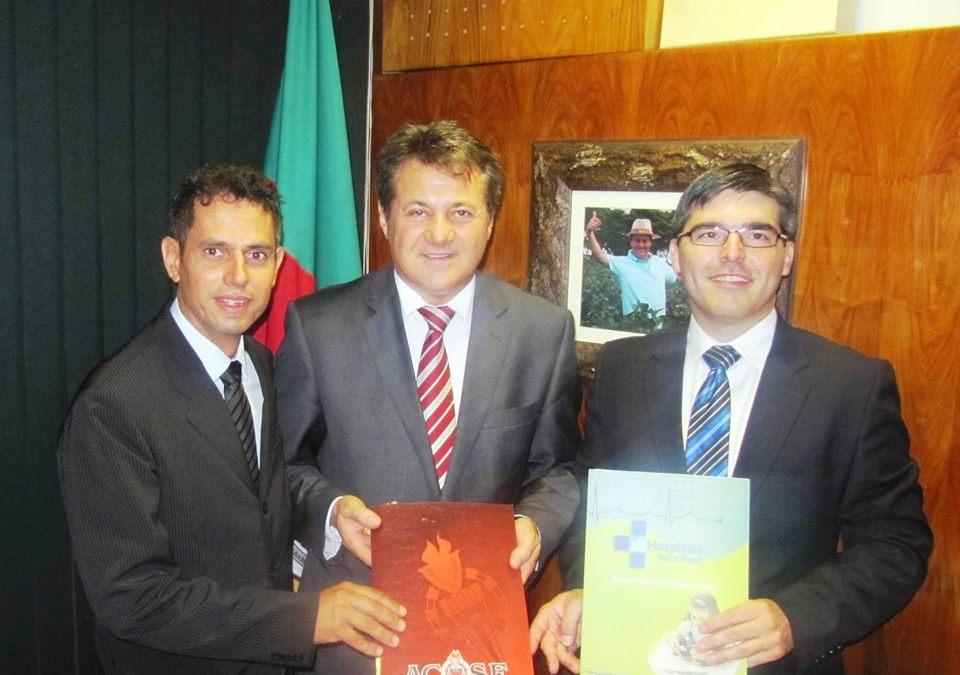 Vereadores de Espumoso são recebidos em Brasília