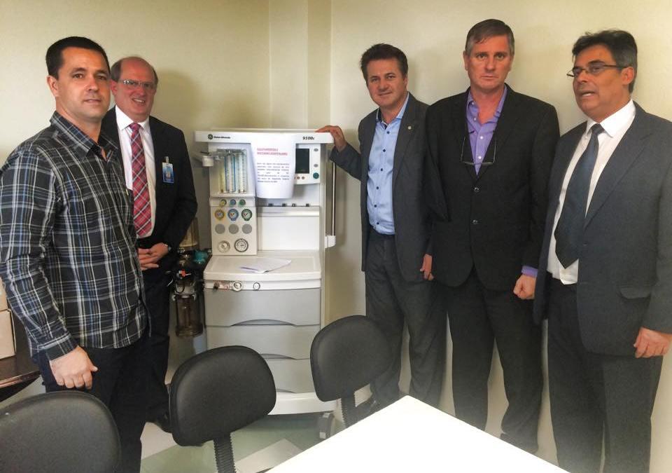 Hospital de Caridade São Jerônimo ganha equipamentos através de emenda parlamentar