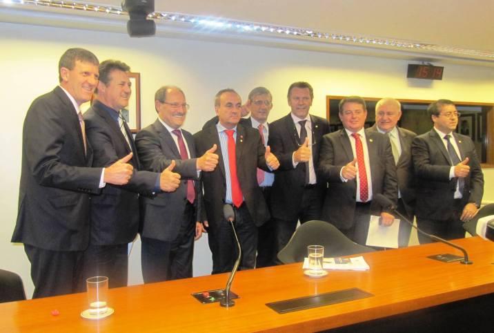 Sartori pede apoio à Bancada Gaúcha