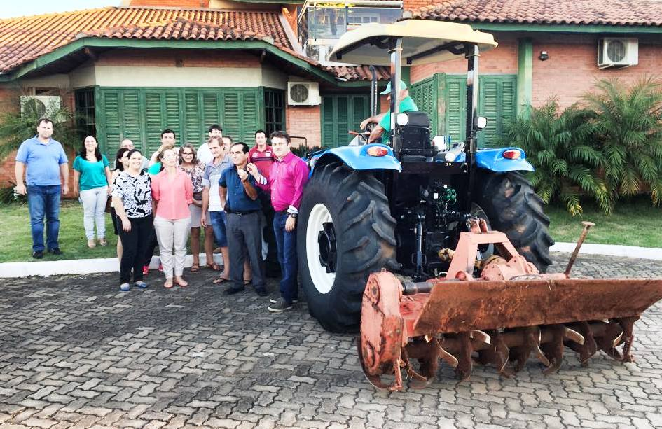 Saiu na mídia – Giovani Cherini entrega emenda parlamentar para Fazenda Vilanova