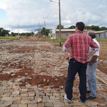 obras pavimentação ruas Artur Simões e Rodolfo Frantz Tunas (3)