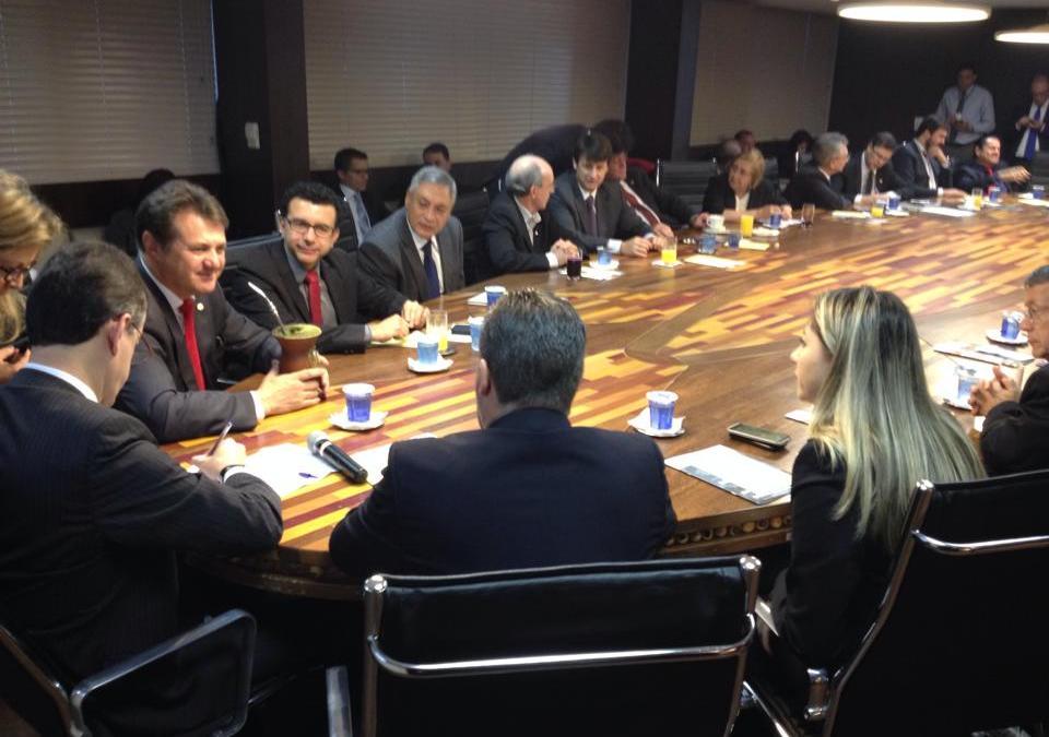 Giovani Cherini ressalta o trabalho da Bancada Gaúcha em reunião na capital federal