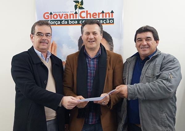 Giovani Cherini indica emenda parlamentar para Sentinela do Sul