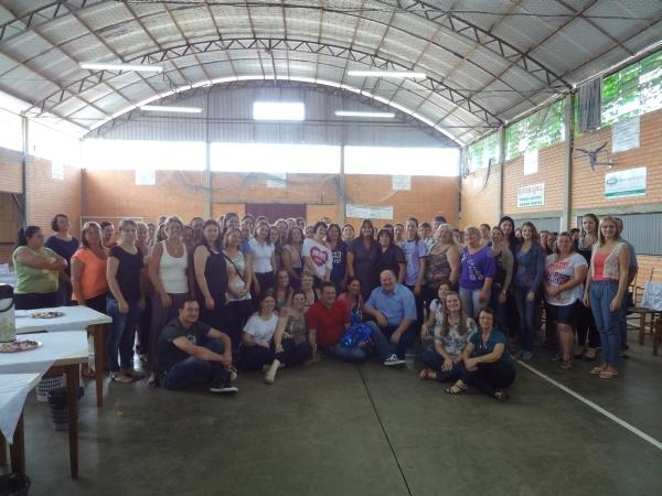 Professores do município de Tio Hugo assistem palestra do deputado Giovani Cherini 2