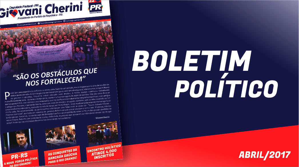 Boletim – Abril 2017
