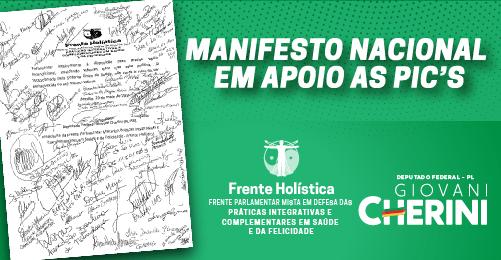 Manifesto Nacional em Apoio as Pics