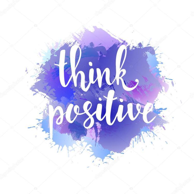 Think positive felicità