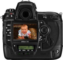 Nikon D3 Display