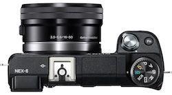 Sony Nex-6 Top